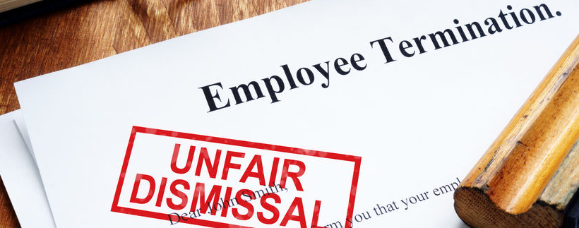 $880,000 paid for unlawful unfair dismissal.